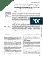Caracteristicas de Una Poblaciion Sobrexplotada de Ensis Macha en Bahia Independencia Peru 2004
