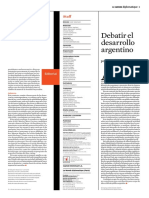 Alejandro Grimson y Otros. Modelos de Desarrollo en Debate. El Dipló. Edición Nro 199. Diciembre de 2015