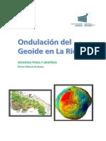 Trabajo Ondulación Del Geoide