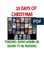 The 25 Days of Christmas - Finding Jesus Where He Seems to be Missing