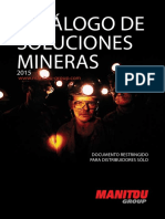 Manitou Mining Catalogue (ES)
