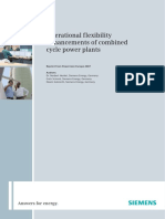 Operational Flexibility Enhancements of Combined Cycle Power Plants