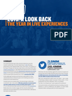 Stubhub Year in Live Experiences Report