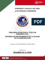 2008 Sistemas de Aseguramiento de La Calidad en La Construccion