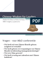 Chinese Wisdom for Leaders