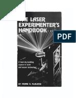 The Laser Experimenters Handbook