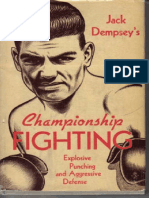 131954012 Jack Dempsey Championship Fighting Original Scan