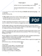 Science Question Paper