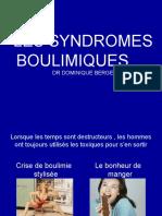 Les Syndromes Boulimiques