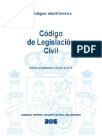 Codigo de Legislacion Civil