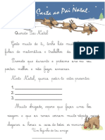 Querido Pai Natal - Carta