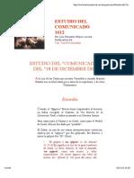 Estudio Del Comunicado 1612
