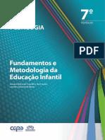 Pedagogia Fundamentos Metodologia Educacao Infantil