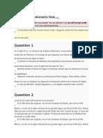 Orígenes _ Cuestionario Final