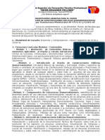 Publicidad 2014 Curso de Sismorresistencia