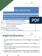 Angle measurement theodolite