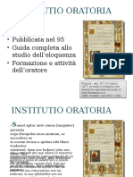 INSTITUTIO ORATORIA