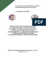 Implicatiile Participarii Romaniei La Dezvoltarea Capabilitatilor in Cadrul Multinational Organizat de NATO Si UE
