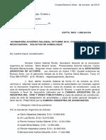 Acuerdo Salarial AAA 1-10-2013 Al 31-03-2014