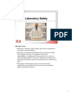 Laboratory Safety To