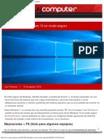 Cómo Arrancar Windows 10 en Modo Seguro » MuyComputer