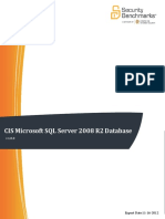 CIS Microsoft SQL Server 2008 R2 Database Engine Benchmark v1.0.0