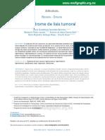 Sindrome de lisis tumural