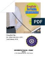 English for Public Administration 2014