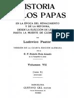 PASTOR-Historia de los Papas 07
