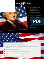 Declaration of Independence of the US