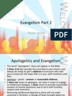 Evangelism Part 2