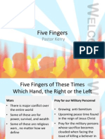 Five Fingers of These Times