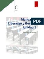 Manual Liderazgo y Gestion Unidad Tematica 1