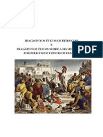 Fragmentos Éticos de Hierocles e Sobre a Mulher Grega