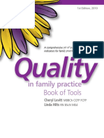 Quality in Family Practice Book of Tools