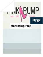 pink pump final marketing plan