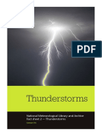 National Meteorological Library Fact Sheet 2 Thunderstorms PDF