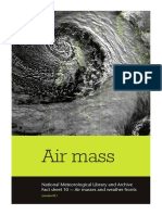 National Meteorological Library Fact Sheet 10 Air Masses and Weather Fronts PDF