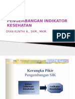 Indikator Sistem Informasi Kesehatan