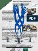 Poster Do PIBID 13º FETEC Subprojeto Letras