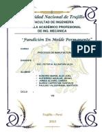 Fundición en Model Permanente