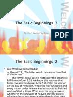 The Basic Beginnings 2