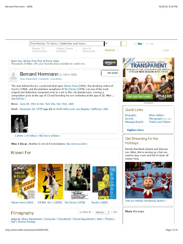 Bernard Herrmann - IMDb.pdf   Amazon.Com   Dvd