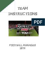 Team Instruction