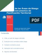 Pilar Gimenez DDU Minvu Manejo de Las Areas de Riesgo en Los IPT