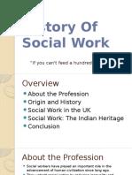 History of Socialwork