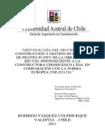 Metodología Del Proceso Del Proceso de Cosntruccion y de Calidad