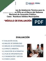 Modulo de Evaluacion