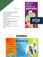 Examen Preventivo adulto mayor