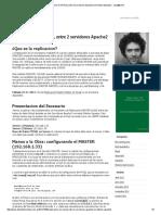 Replicacion en MYSQL entre 2 servidores Apache2 con Debian Squeeze « carp@home.pdf